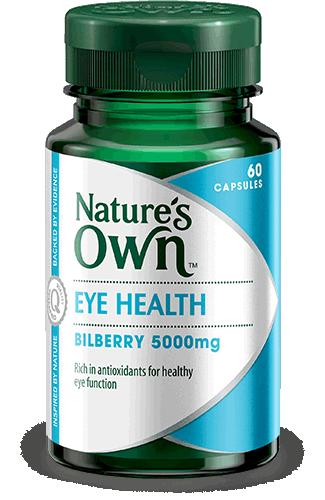 Eye Health, Bilberry 5000mg