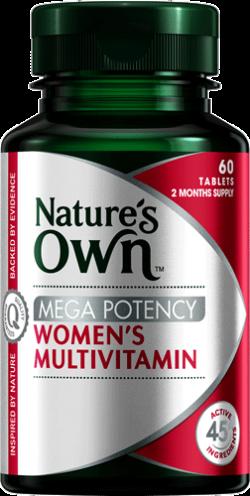 Mega Potency Women's Multivitamin