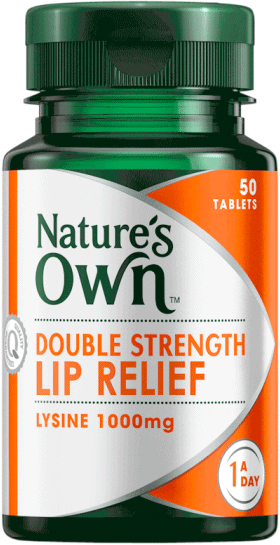 Double Strength Lip Relief 1000mg