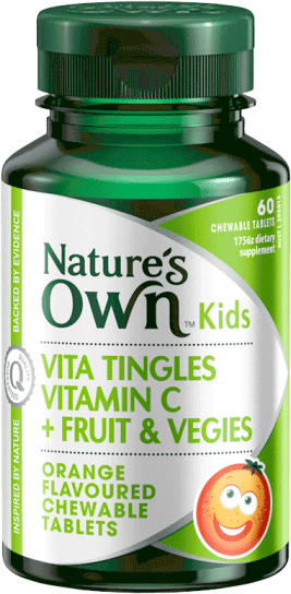 Vita Tingles Vitamin C + Fruit & Vegies
