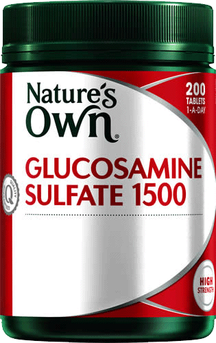 Glucosamine 1500 with Chondroitin Tablets