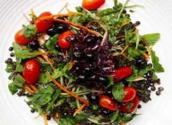 Blueberry & mint salad