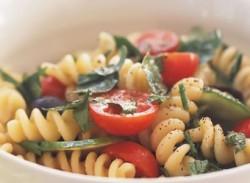 Fresh herb & pasta salad