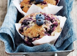Microwave breakfast muffins