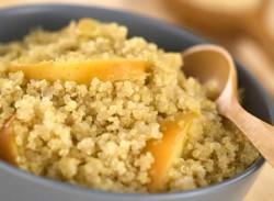 Quinoa pear porridge