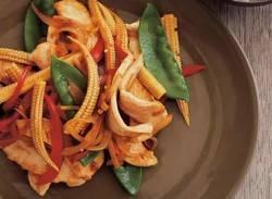Easy chicken & vegetable stir-fry