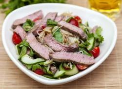 Healthy Thai beef salad