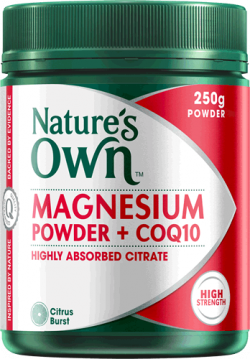 Magnesium Powder + CoQ10